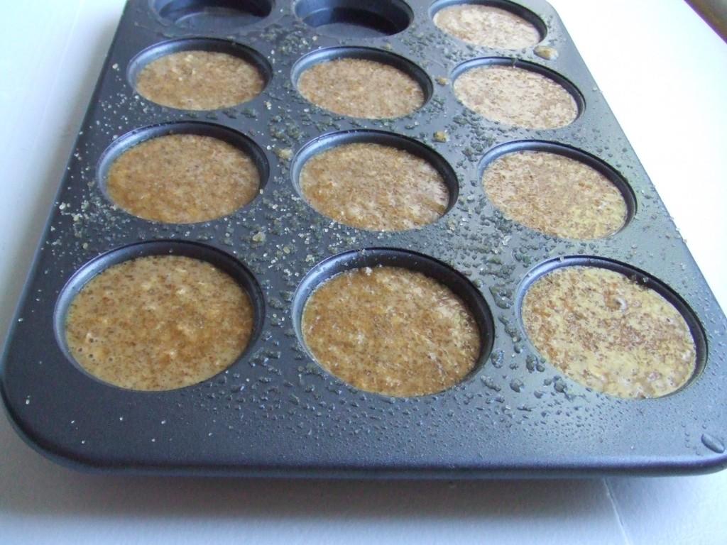 Gluten Free Oatmeal Flax Muffins