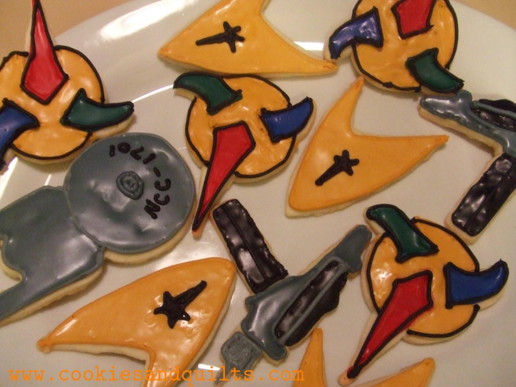 Gluten Free Original Star Trek Cookies