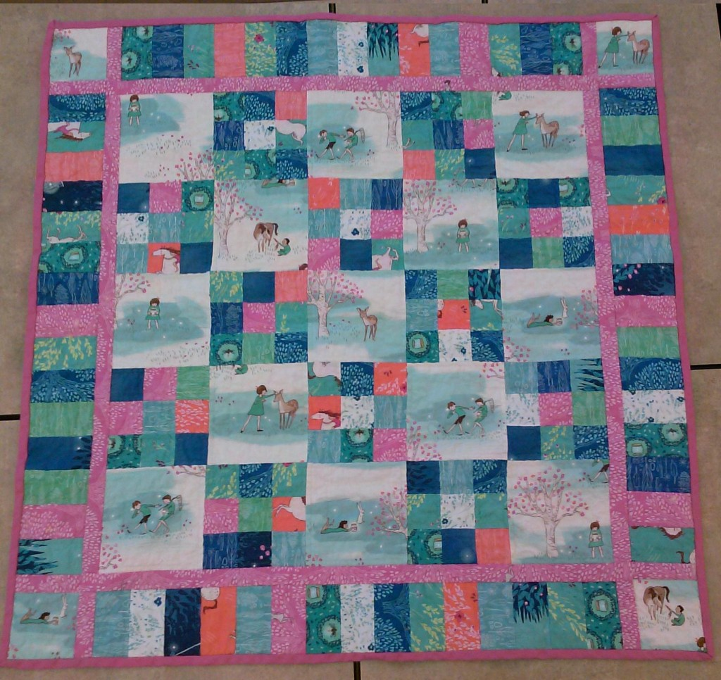 Wee wander quilt